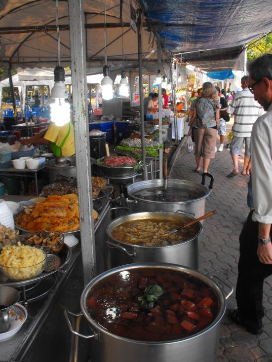 Street Food At Kings Park, Bangkok